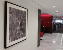 artwork installed at S&P's headquarters
